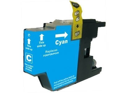 Huismerk Brother MFC-J625DW inktcartridges LC1240 Cyan