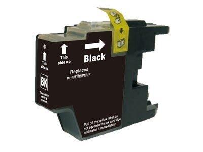 Huismerk Brother DCP-J525W inktcartridges LC1240 BK