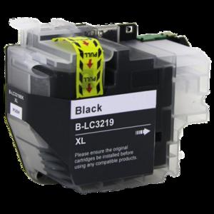 Huismerk Brother inktcartridges LC-3219 XL BK