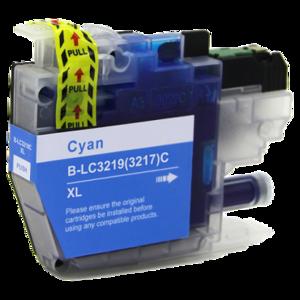 Huismerk Brother inktcartridges LC-3219 XL Cyan