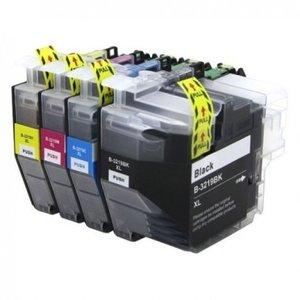 Huismerk Brother inktcartridges LC-3219 XL set 4 stuks