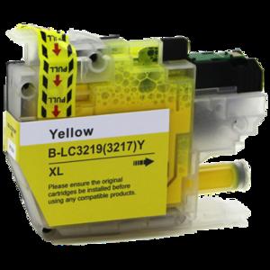 Huismerk Brother MFC-J5330DW inktcartridges LC-3219 XL Yellow