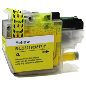 Huismerk Brother MFC-J6530DW inktcartridges LC-3219 XL Yellow