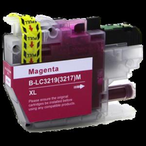 Huismerk Brother MFC-J5830DW inktcartridges LC-3219 XL Magenta