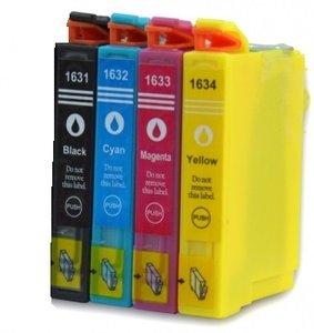 Huismerk Epson WorkForce WF-2630WF cartridges T16 XL Set (T1636)