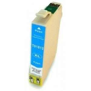 Huismerk Epson Expression Home XP-415 cartridges T18 XL Cyan (T1812)