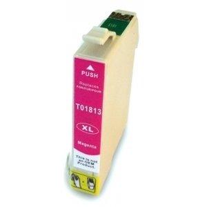 Huismerk Epson Expression Home XP-102 cartridges T18 XL Magenta (T1813)