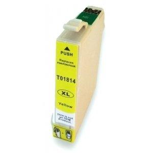 Huismerk Epson Expression Home XP-202 cartridges T18 XL Yellow (T1814)