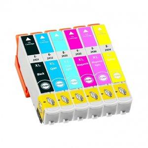 Huismerk Epson Expression Photo XP-760 cartridges T24 XL Set (T2437)