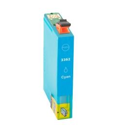Huismerk Epson Expression Premium XP-630 cartridges T33 XL Cyan (T3362)