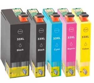 Huismerk Epson Expression Premium XP-640 cartridges T33 XL Set (T3357)