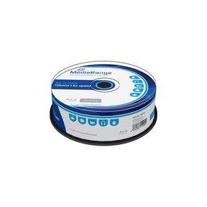 MediaRange BD-R 25 GB 6x speed in cakebox 25 stuks