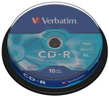 Verbatim CD-R 700 MB Extra Protection 10 stuks
